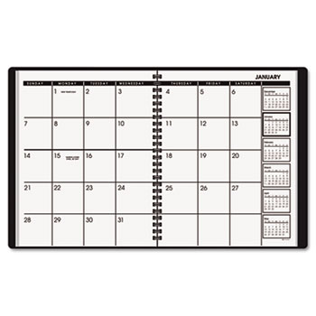 """AT-A-GLANCE® Monthly Planner, 6 7/8"""" x 8 3/4"""", Assorted Colors, 2021"""