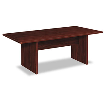 BL Laminate Series Rectangular Conference Table, 72w x 36d x 29 1/2h, Mahogany