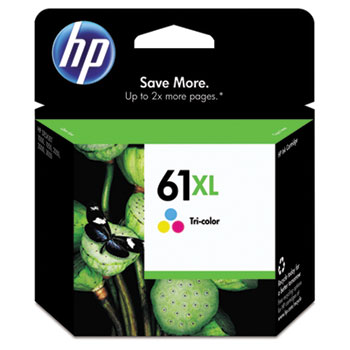 61XL Ink Cartridge, Tri-color (CH564WN)