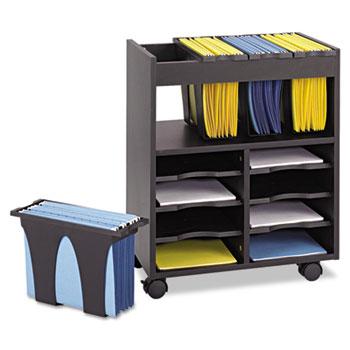 Go Carts Mobile File, 14-1/2w x 21-1/2d x 26-1/4h, Black