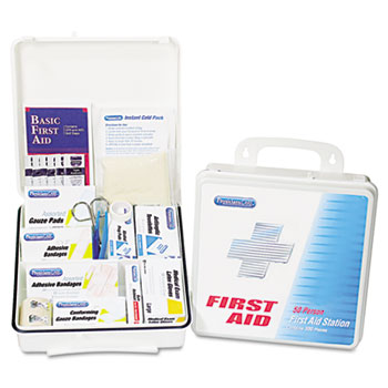 PhysiciansCare® Office First Aid Kit, For Up to 75 People, 312 Pieces/Kit
