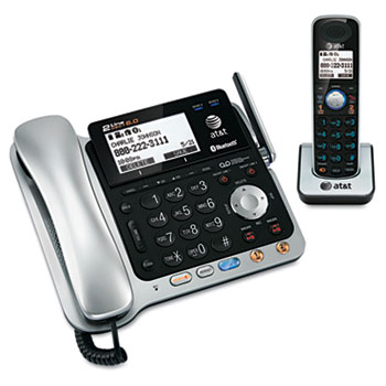 AT&T® TL86109 Two-Line DECT 6.0 Phone System with Bluetooth