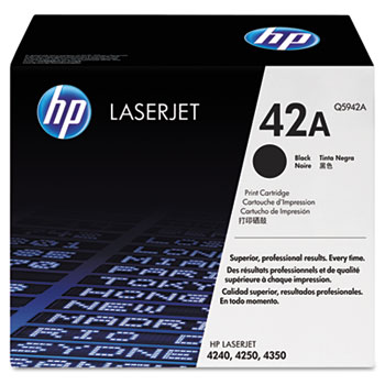 42A (Q5942A) Toner Cartridge, Black