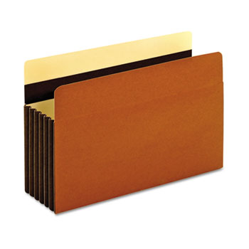 "Heavy-Duty File Pockets, 7"" Expansion, 1 Pocket, Legal, Redrope"