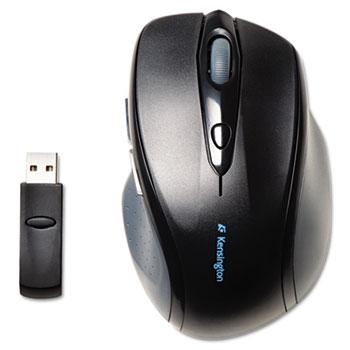 Kensington® Pro Fit Full-Size Wireless Mouse, Right, Black