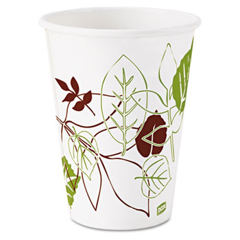 Pathways Polycoated Paper Cold Cups, 12oz, 2400/Case