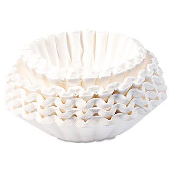 BUNN® Flat Bottom Coffee Filters, Paper, 12-Cup Size