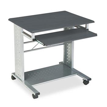 Safco® Empire Mobile Desk, 29-3/4w x 23-1/2d x 29-3/4h, Anthracite