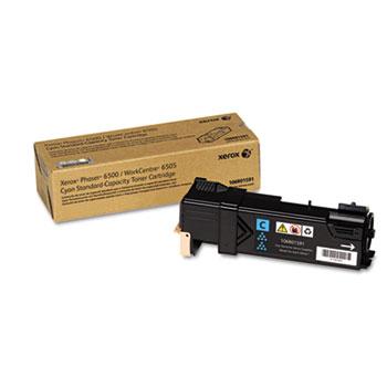 Xerox® 106R01591 Toner, 1,000 Page-Yield, Cyan