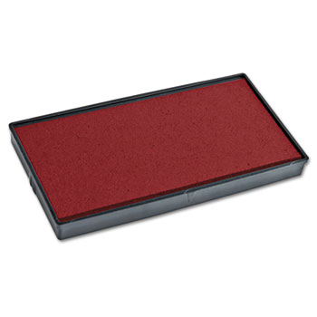 COSCO 2000PLUS® Replacement Ink Pad for 2000 PLUS 1SI20PGL, Red