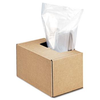 Fellowes® Powershred Shredder Waste Bags, 50 gal Capacity, 50/CT