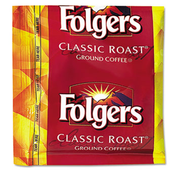 Folgers® Coffee, Classic Roast, .9oz Fractional Packs, 36/Carton