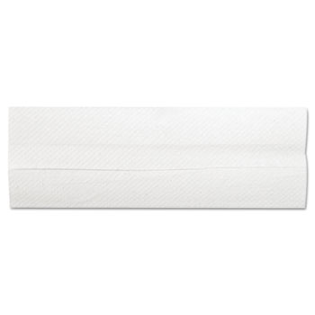 """General Supply C-Fold Towels, 10.13"""" x 11"""", White, 200/Pack, 12 Packs/Carton"""