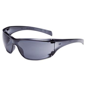 Virtua AP Protective Eyewear, Gray Frame and Lens, 20/Carton