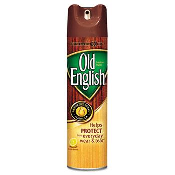 OLD ENGLISH® Furniture Polish, 12.5 oz. Aerosol, Lemon Scent, 12/CT