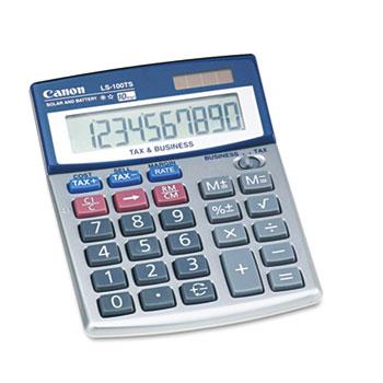 LS-100TS Portable Business Calculator, 10-Digit LCD