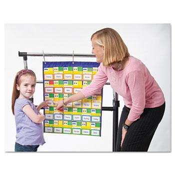 Carson-Dellosa Publishing Classroom Management Chart, 30 Student Name Pockets, Title Pocket, 24 x 27
