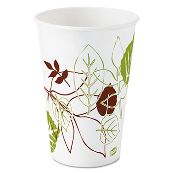 Dixie® Pathways Polycoated Paper Cold Cups, 12oz, 1200/Case