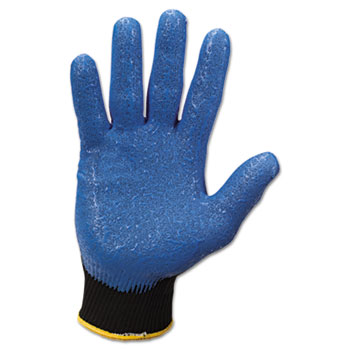 G40 Nitrile Coated Gloves, Small/Size 7, Blue, 12 Pairs