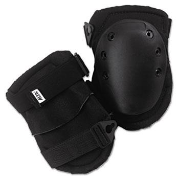 ALTA® AltaLok Knee Pads, Fastener Closure, Neoprene/Nylon, Rubber, Black