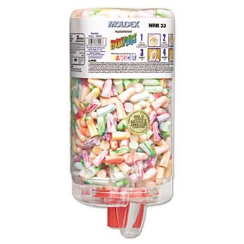 Moldex® SparkPlugs PlugStation Earplug Dispenser, Cordless, 33NRR, Asst, 500 Pair