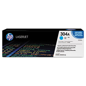 304A (CC531A) Toner Cartridge, Cyan