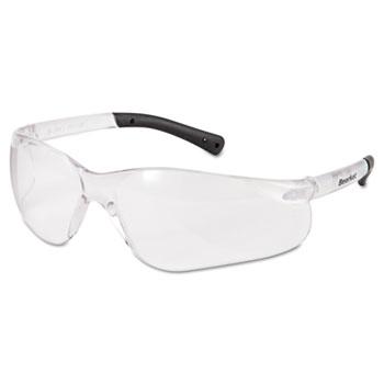Crews® BearKat Safety Glasses, Frost Frame, Clear Lens