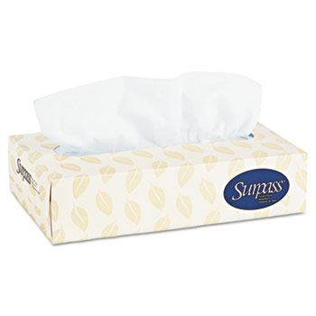 Surpass® Facial Tissue, 60 Boxes/Carton