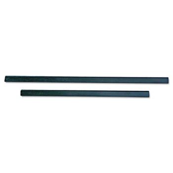 """Unger® ErgoTec Replacement Squeegee Blades, 12"""" Wide, Black Rubber, Soft, 1/Pack"""