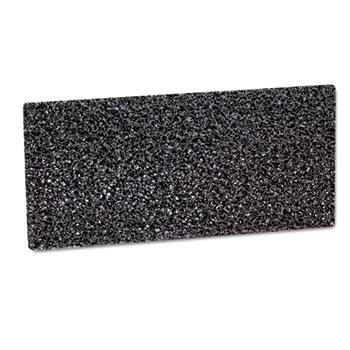 3M™ Doodlebug Hi-Productivity Stripping Pad, 4 5/8 x 10, Black, 40/Carton