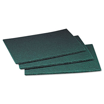 Scotch-Brite™ PROFESSIONAL Commercial Scouring Pad, 6 x 9, 60/Carton