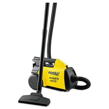 Eureka® Lightweight Mighty Mite Canister Vacuum, 9A Motor, 8.2 lb, Yellow