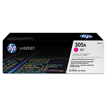 305A (CE413A) Toner Cartridge, Magenta