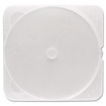 Verbatim® TRIMpak CD/DVD Case, Clear, 200/Pack