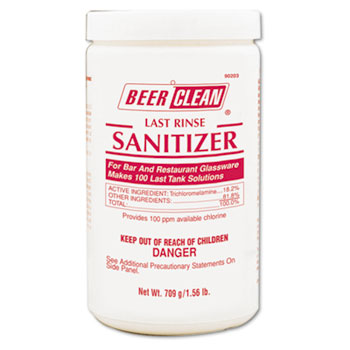 Diversey™ Beer Clean Last Rinse Glass Sanitizer, Powder, 25 oz Container