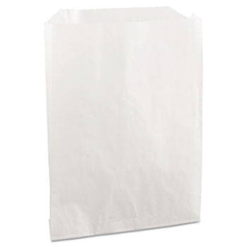 PB19 Grease-Resistant Sandwich/Pastry Bags, 6 x 3/4 x 7 1/4, White, 2000/Carton