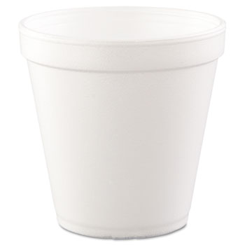 Containers, Foam, 16oz., White, 500/CT