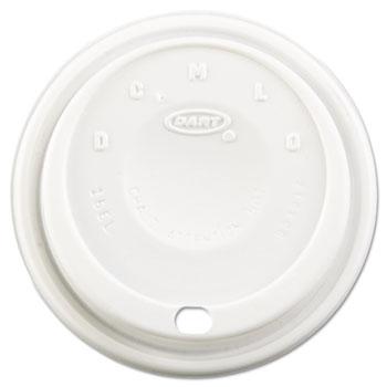 Lids, Cappuccino Dome Sipper, 12-24oz Cups, White, 1000/CT