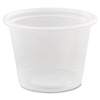 Conex® Complements Portion/Medicine Cups, 1oz, Clear, 125/Bag, 20 Bags/Carton