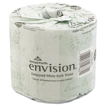 Bathroom Tissue, 2-Ply, 550 Sheets/Roll, 80 Rolls/Carton