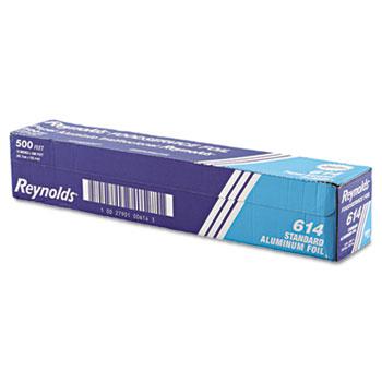 "Reynolds® Standard Aluminum Foil Roll, 18"" x 500 ft, Silver"