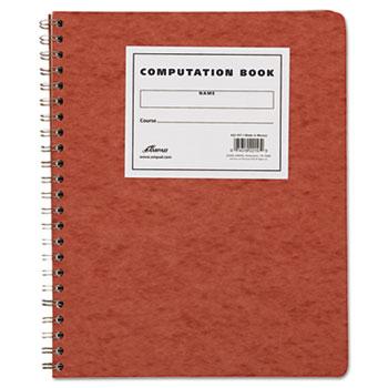 Computation Book, Quadrille Rule, 11-3/4 x 9-1/4, Antique Ivory, 76 Sheets