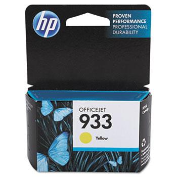 HP 933 Ink Cartridge, Yellow (CN060AN)