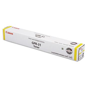 Canon® 2802B003AA (GPR-31) Toner, Yellow