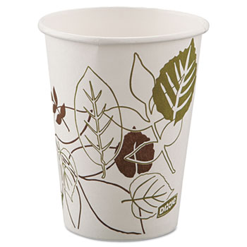 Pathways Paper Hot Cups, 8oz (Fits Small Lids), 25/ Pack, 25/Pack