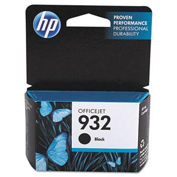 HP 932 Ink Cartridge, Black (CN057AN)