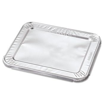 Handi-Foil of America® Steam Table Pan Foil Lid, Fits Half-Size Pan, 10 7/16 x 12 1/5