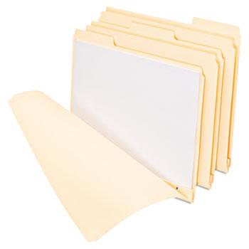 "Pendaflex® Three Fastener File Folder, 3/4"" Exp, 1/3 Cut Tab, Letter, Manila, 50/BX"