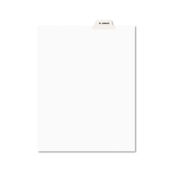 Avery® Individual Legal Dividers Style, Letter Size, Avery-Style, Bottom Tab Dividers, EXHIBIT B, 25/PK