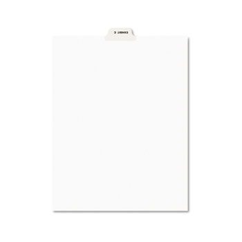 Avery® Individual Legal Dividers Style, Letter Size, Avery-Style, Bottom Tab Dividers, EXHIBIT C, 25/PK